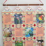 Interchangeable Applique Wall Calendar