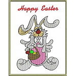 Applique Easter Greeting Cards