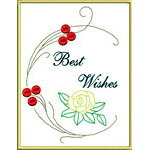 Applique Mixed Greeting Cards