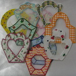 Applique Potpourri Bags