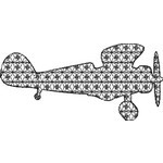 Basic Blackwork Plane 01