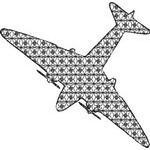 Basic Blackwork Plane 10