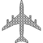 Basic Blackwork Plane 12