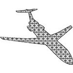 Basic Blackwork Plane 13