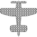 Basic Blackwork Plane 14