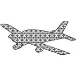 Basic Blackwork Plane 15
