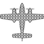 Basic Blackwork Plane 16