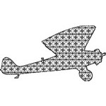 Basic Blackwork Plane 17