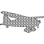 Basic Blackwork Plane 18
