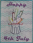 4th Of July Greeting Card 02