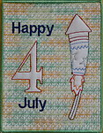 4th Of July Greeting Card 03