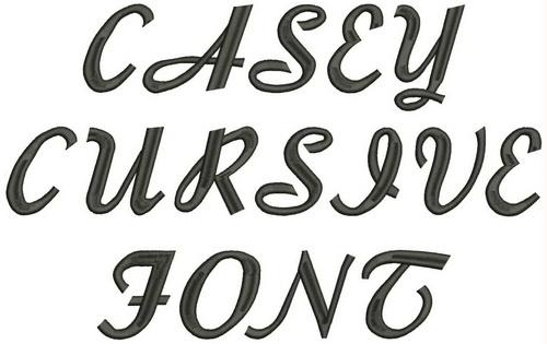 Casey Cursive Font Casey Cursive Font