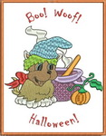 Greeting Cards Halloween Puppies
